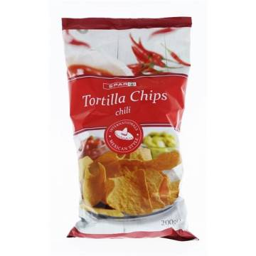 "TORTILLA CHIPS CHILI ""SPAR"""