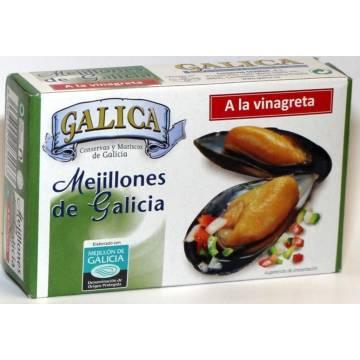 MEJILLONES A LA VINAGRETA GALICIA