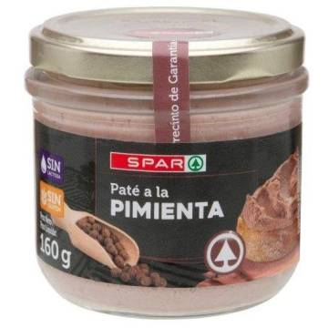 "PÂTÉ WITH PEPPER ""SPAR"""