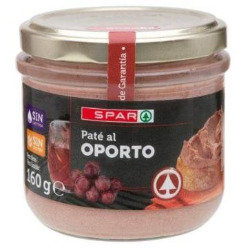 "PÂTÉ PORK IN PORT WINE ""SPAR"""