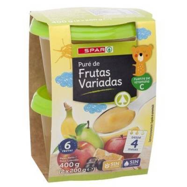 TARRINA FRUTAS VARIADAS SPAR X2