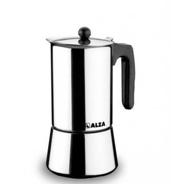 CAFETERA INOX 6 TAZAS ALZA