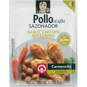 GARLIC CHICKEN SEASONING 7G CARMENCITA