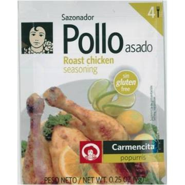 ROAST CHICKEN SEASONING 7G CARMENCITA