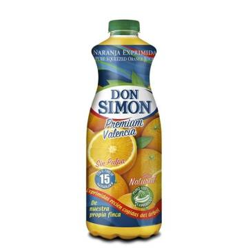 ORANGE JUICE WITHOUT PULP NOT FROM CONCENTRATE 1L DON SIMON