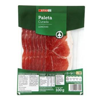 CURED SHOULDER HAM SLICES 100G SPAR