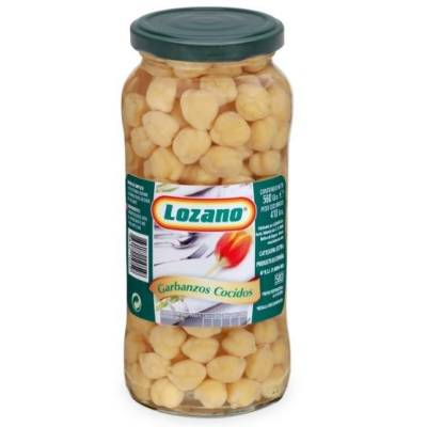 GARBANZO COCIDO LOZANO