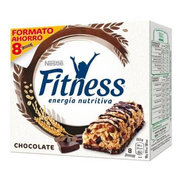 BARRITA FITNESS CHOCOLATE NEGRO