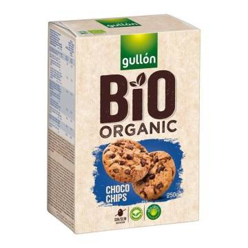 GALLETAS CHOCO CHIP BIO GULLON