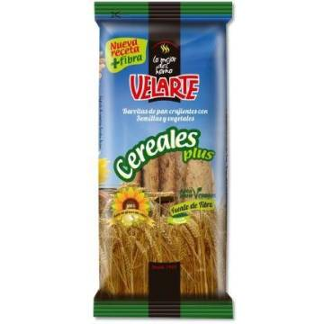 BARRITAS DE PAN CEREALES PLUS 80G VELARTE