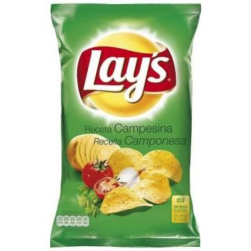 CHIPS CAMPESINAS 160G LAY'S