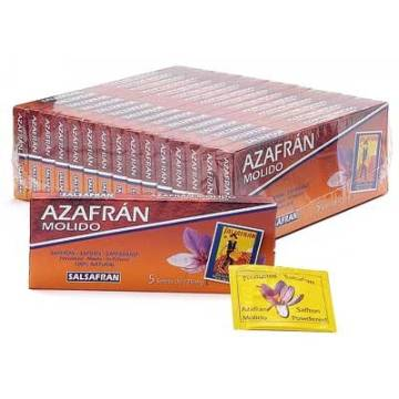 GROUND SAFFRON 5 SACHETS SALSAFRAN