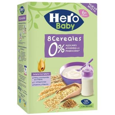 PAPILLA MULTICEREALES HERO BABY