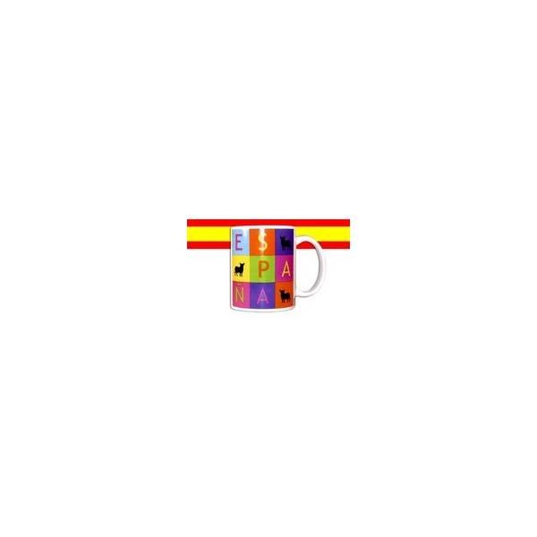 TASSE SPANIEN QUADRATE