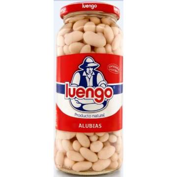 COOKED WHITE BEANS 570G LUENGO