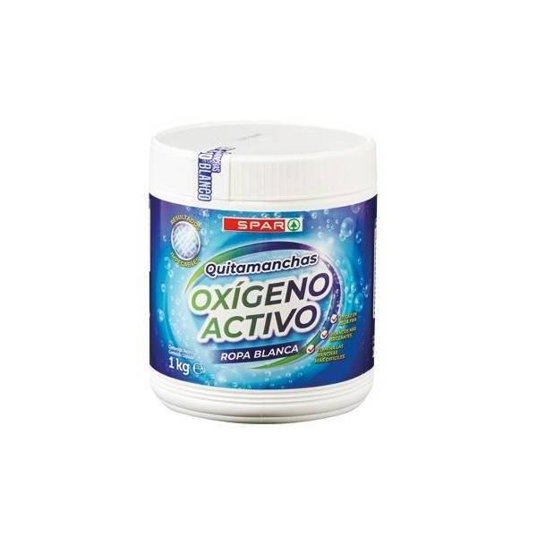DETERGENTE OXIGENO ACTIVO BLANCO SPAR