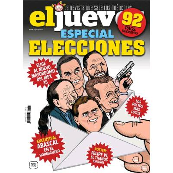 EL JUEVES - SATIRICAL MAGAZINE