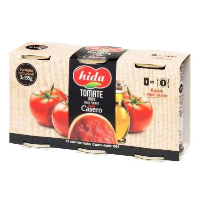 FRIED TOMATO SAUCE 3x155G HIDA