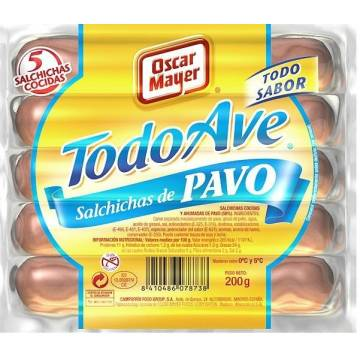 SALCHICHAS PAVO OSCAR MAYER