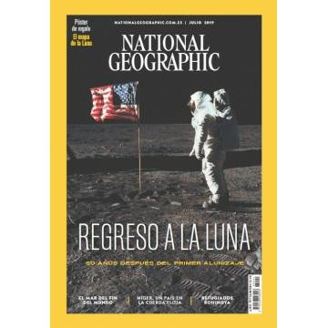 NATIONAL GEOGRAPHIC- SCIENTIFIC MAGAZINE
