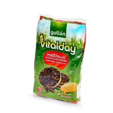 TORTITAS MAÍZ CHOCOLATE VITALDAY GULLON