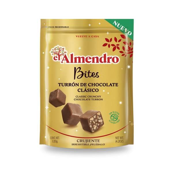BITES TURRÓN CHOCOLATE LECHE EL ALMENDRO