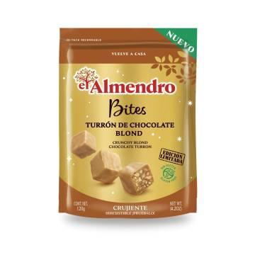 BITES TURRÓN CHOCOLATE BLOND EL ALMENDRO