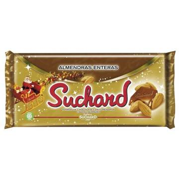 CRUNCHY CHOCOLATE NOUGAT WITH WHOLE ALMONDS SUCHARD 260 G