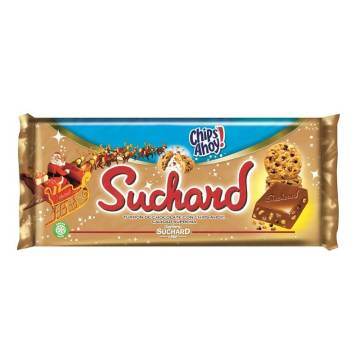 CRUNCHY CHOCOLATE NOUGAT WITH CHIPS AHOY! 260G SUCHARD