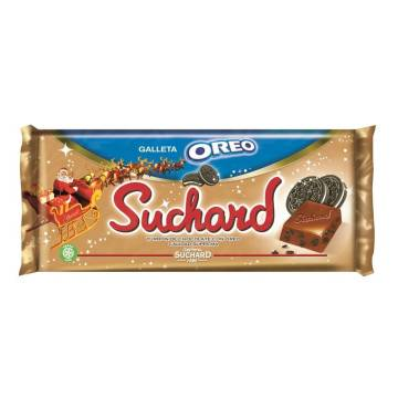 CRUNCHY CHOCOLATE TURRON WITH OREO 260G SUCHARD