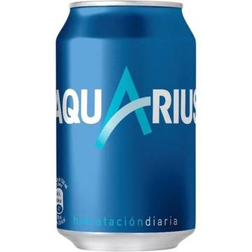 ISOTONIC DRINK AQUARIUS LEMON -CAN 33CL-