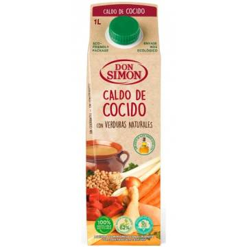 STEW BROTH WITH NATURAL VEGETABLES 1L DON SIMON