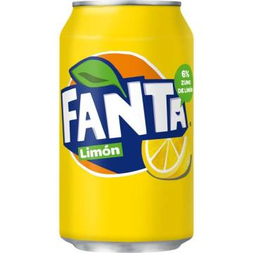 FANTA LEMON CAN 33CL