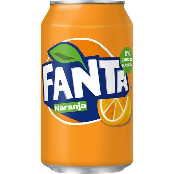 FANTA ORANGE CANETTE 33 CL