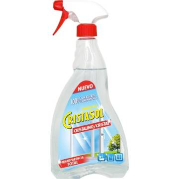 Cristasol crystal glass cleaner gun