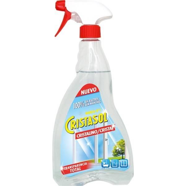 Cristasol crystal glass cleaner gun