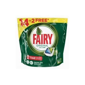 DETERGENT DISHWASHER ALL IN 1 CAPSULES FAIRY