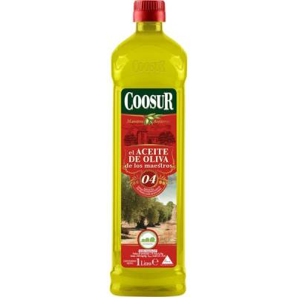 Mildes Olivenöl COOSUR 1l.
