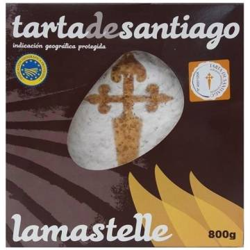 TRADITIONAL CAKE OF SANTIAGO 400g
