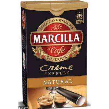 NATURAL GROUND COFFEE CRÈME EXPRESS 250G MARCILLA