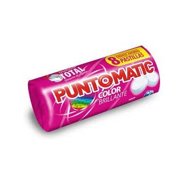 DETERGENTE PASTILLAS PUNTOMATIC COLOR BRILLANTE