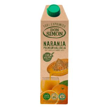 "ORANGE JUICE PREMIUM 1L ""DON SIMON"""
