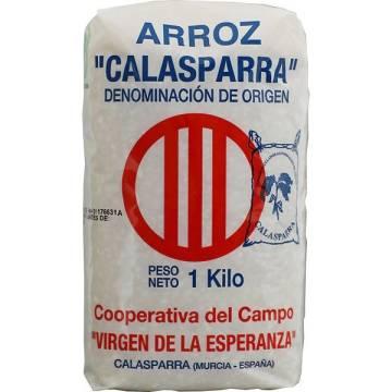 ARROZ 1KG CALASPARRA