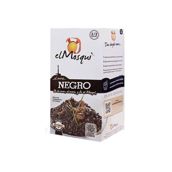 Brühe mit Zubereitung für schwarzen Reis EL MOSQUI 750g.