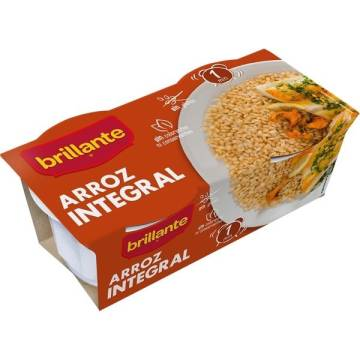 COOKED WHOLEGRAIN RICE PACK 2 BRILLANTE