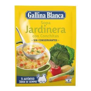 Gemüsesuppe mit Nudeln GALLINA BLANCA