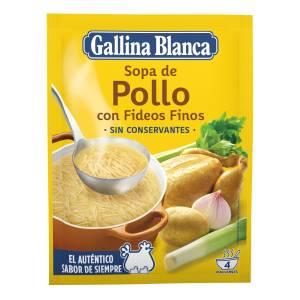 Hühnersuppe mit dünnen Nudeln GALLINA BLANCA