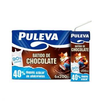 BATIDO DE CHOCOLATE X6 PULEVA
