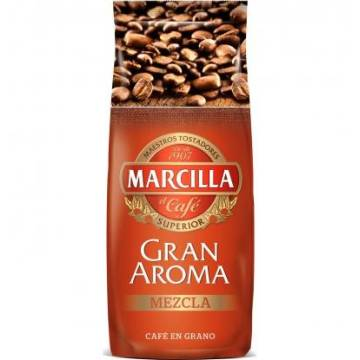 MIXED COFFEE BEANS GRAN AROMA 500G MARCILLA