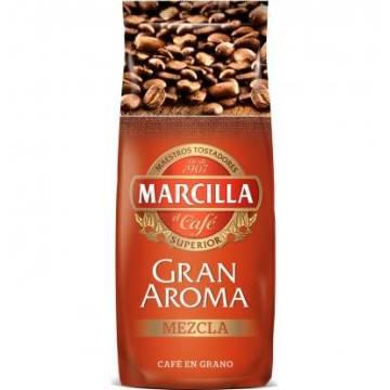 CAFÉ MÉLANGE EN GRAINS GRAN AROMA 500G MARCILLA